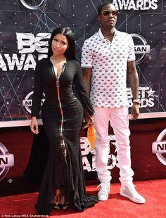 Nicki Minaj put curves on display at the 2015 BET Awards in LA