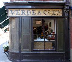 Verde & Co. 40 Brushfield Street, Spitafields
