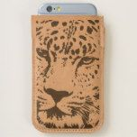 LEOPARD LOVE IPHONE 7 LEATHER PHONE HOLDER GIFT iPhone 6/6S CASE
