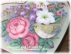 山本智美ロシアン・ペイント : Tolepaint Daisy Garden