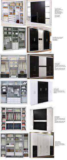 Ideas Bedroom Wardrobe Design Ideas Clothes For 2019 Bedroom Wardrobe, Wardrobe Closet, Built In Wardrobe, Home Bedroom, Master Closet, Wardrobe Drawers, Closet Mirror, Ikea Closet, Master Suite