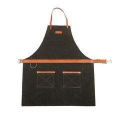 Rugged Apron - Waxed Canvas - Olive  #wearhard
