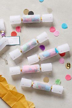Mini Confetti Crackers #anthropologie
