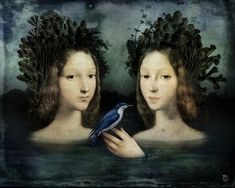 Chilean Visionary painter Christian Schloe work includes digital art, painting, illustration and photography. Digital Painter, Digital Art, Graphic 45, Girl In Water, Max Ernst, Magic Realism, Art Textile, Arte Popular, Magritte