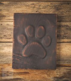 Unique Wooden Photo Album