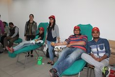 | Blood Donation Camp organized at #NCU Gurgaon | #TheNorthCapUniversity organized a #BloodDonation Camp in the University Campus on 25 February 2016, in association with Rotary Blood Bank. The Camp was inaugurated by our Pro-Chancellor, Prof. Prem Vrat and DC Gurgaon, Mr TL Satya Prakash. There was great enthusiasm amongst the students, faculty and staff members of the University who started queuing up in large numbers to register since morning.