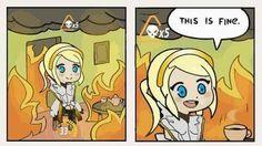 Overwatch Mercy funny