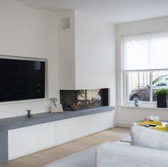 The Best 2019 Interior Design Trends - Interior Design Ideas Home Living Room, Home Fireplace, Room Interior, Living Room Decor Fireplace, Fireplace Design, House Interior, Modern Fireplace, Home Interior Design, Home And Living