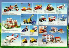 Classic Lego, Lego Boards, Brick Construction, Lego 4, Lego System, Lego Castle, Vintage Lego, Leaflets, Kids Zone