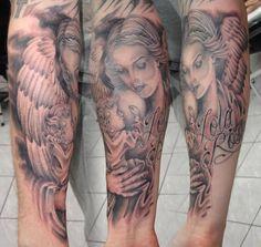 Guardian angel forearm design