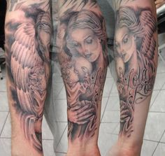 Guardian Angel Tattoos | Guardian Angel Tattoos – Designs and Ideas