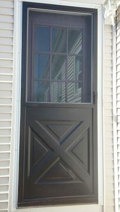 Painted Storm Door Didn T Chip Or Peel Diy Painted