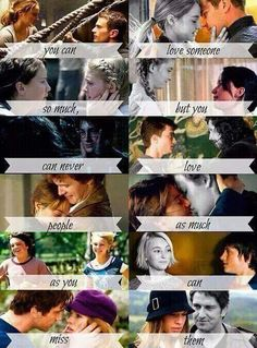 Divergent, Hunger Games, Harry Potter, The fault in our stars, bridge to terabithia. Movie Quotes, Book Quotes, I Love Books, My Books, Fangirl, Divergent Hunger Games, Fandom Quotes, Fandom Crossover, Book Memes