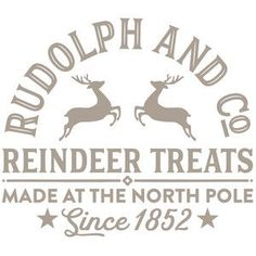 Silhouette Design Store: Rudolph And Co Christmas Vinyl, Christmas Projects, Christmas Shirts, All Things Christmas, Winter Christmas, Holiday Crafts, Christmas Holidays, Christmas Decorations, Christmas Design
