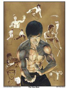 Bruce Lee by NealAdams on deviantART