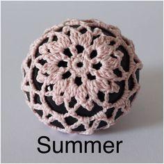 Ballet bun cover hair accessory crochet bun cover dance