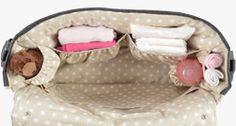 Die #Wickeltasche von Boo Poo