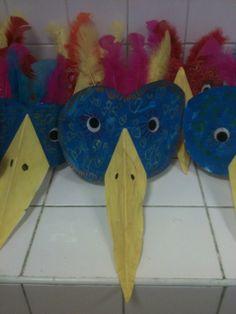 Les couronnes oiseaux - La maternelle de Teet et Marlou