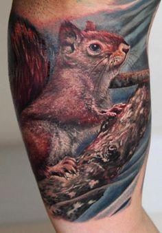 tattoo-arm-realistic-squirrel.jpg (417×600)