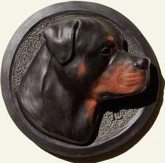 Rottweiler Wall Sculpture