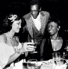 Phyllis Hyman Bill Cosby and Natalie Cole