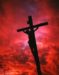 Crucifixion Jesus Christ On The Cross Silhouetted Against Red Sky Cross Wallpaper, Jesus Wallpaper, Jesus Christ Painting, Jesus Art, Cross Silhouette, Jesus Drawings, Jesus Photo, The Cross Of Christ, Cross Of Jesus
