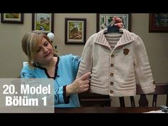 Diy Crafts - Model ● Örgü Modelleri We have prepared wonderful knitting patterns for winter. Knitting For Kids, Knitting For Beginners, Baby Knitting, Crochet Baby, Baby Pullover, Baby Cardigan, Knitting Videos, Crochet Videos, Baby Sweater Knitting Pattern