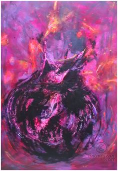 ** Kiss me at Midnight ** (Pittura),  70x100 cm da Marilena Lacchinelli