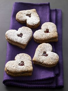 Linzer Heart Cookies Recipe from @cookthestory