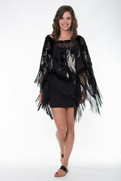 Boho Silk Collection – Pure Silk Velvet Poncho Ladli Australia  Pure silk velvet poncho