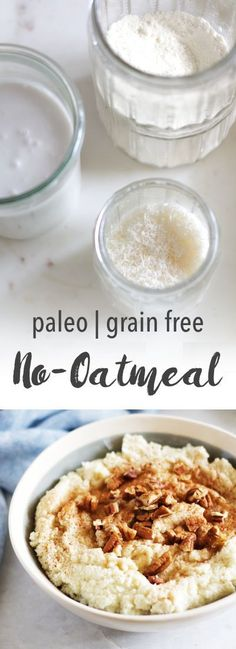 Paleo Oatmeal Recipe | Empowered Sustenance