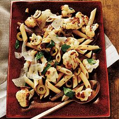 Budget Cooking: Feed 4 for $10 | Roasted Cauliflower Pasta | CookingLight.com