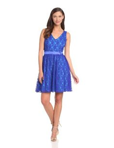 Hailey by Adrianna Papell Women's Fit and Flare Lace Cocktail Dress, Blue/Multi, 2 Adrianna Papell,http://www.amazon.com/dp/B00DSNJ854/ref=cm_sw_r_pi_dp_Vlpztb0TZFGYSHK3
