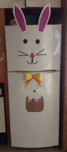 Easter Bunny Rabbit fridge decoration