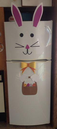 Easter Bunny Rabbit fridge decoration