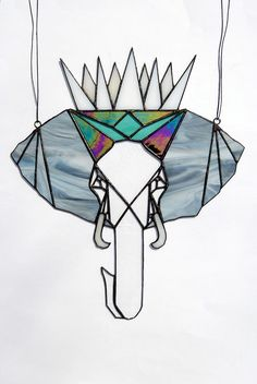 Animal Kingdom Series, The Elephant in Stained Glass