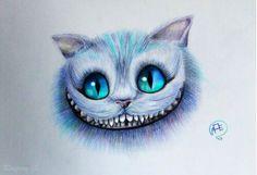 Cheshire Cat art (Alice in Wonderland)