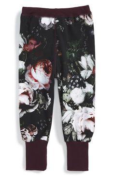 Molo 'Silvia' Floral Print Leggings (Baby Girls) at Nordstrom.com.