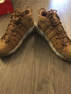 77d55d18bff7 Nike Air Uptempo Flax Wheat PRM Size 12  fashion  clothing  shoes   accessories  mensshoes  athleticshoes (ebay link)