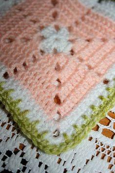 Crochet border idea