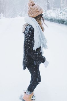 Winter snow outfit