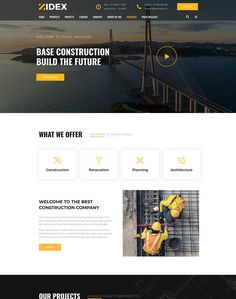 Zidex - Industrial & Factory WordPress Theme - ModelTheme Glass House, Shopping Center, Project Management, Pharmacy, Wordpress Theme, Industrial, Construction, Architecture, Building