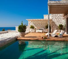 Likya Gardens Hotel in Kalkan, Turkey: an uber-romantic hotel where each suite has a private plunge pool and sea views.