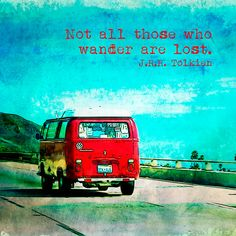 72 Volkswagon Van on the Road Fine Art Photographic Print in Various Sizes on Etsy, $8.00