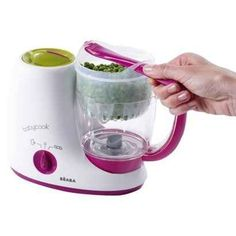 Steam, puree, defrost, and reheat all in one with the Beaba Babycook Baby Food Maker. | 31 Ingenious Products That Will Make Parenting So Much Easier