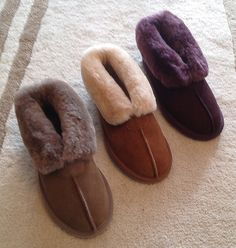 Ladies Sheepskin Slipper boot at Lifestyle and Heritage Company LHCo, part of our women's sheepskin slipper range. Furry Boots, Ugg Boots, Ladies Sheepskin Slippers, Slipper Boots, Uggs, Coats, Lady, Winter, Jackets