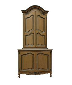 rohová skříň - příborník ruční výroby / stylový toskánský nábytek