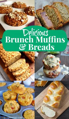 Delicious Brunch Muffins And Breads - Oh My Creative