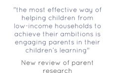 New meta-analysis of parent engagement research