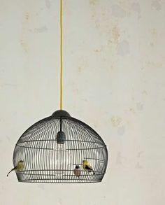 Vogelkäfig Lampenschirm